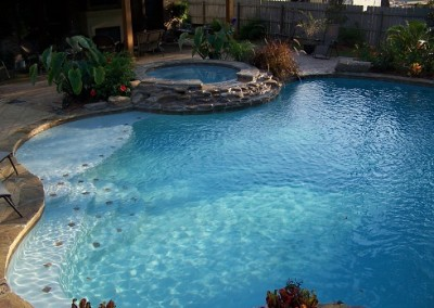 Custom gunite pools for you!