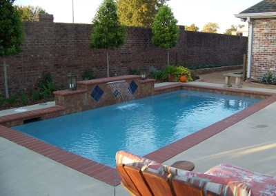 custom fitted pools