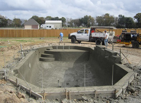 Gunite Construction Process